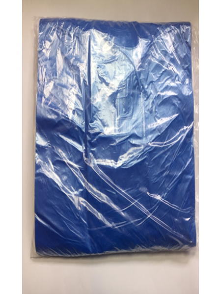 Фартук полиэтиленовый, н/с, №100,  голубой