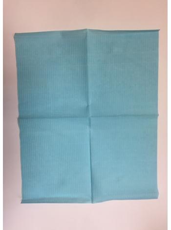 Стоматологический нагрудник №500, голубой, 18 гр/м2