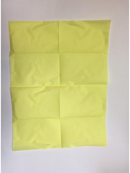 Стоматологический нагрудник №500, желтый, 18 гр/м2