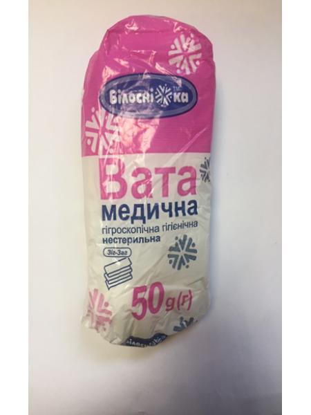 """Вата """"Укрвата"""", 100 гр., н/с, 7%"""