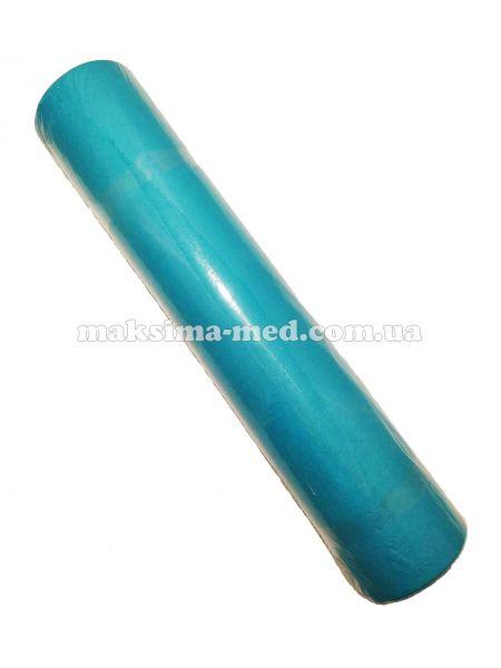 Простынь одноразовая Softex, 23 г/м2, 600 мм (100 м), тёмно-голубая