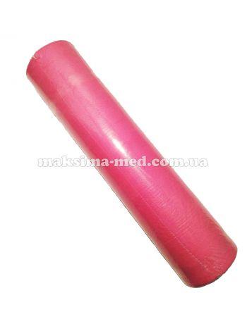 Простынь одноразовая  23 г/м2, 600 мм (100 м), розовая